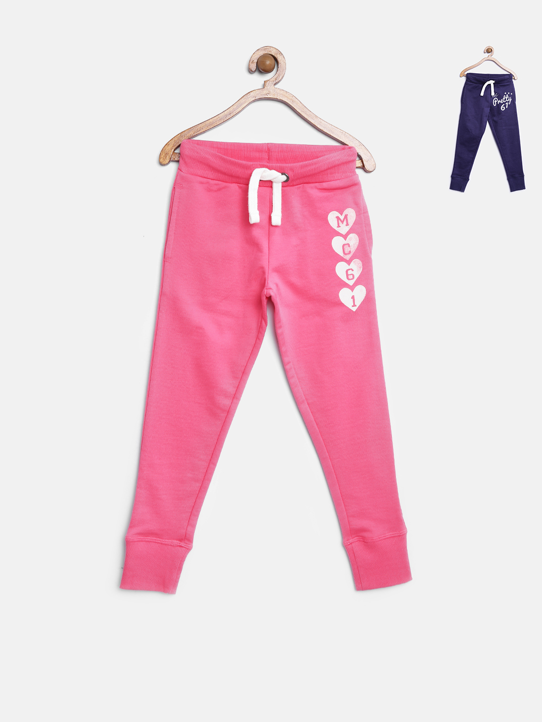 mothercare Girls Pack of 2 Track Pants