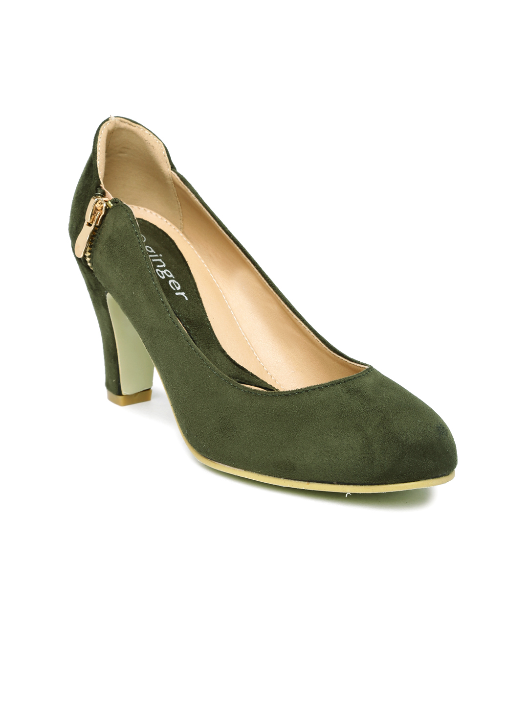 Ginger by Lifestyle Women Olive Pumps