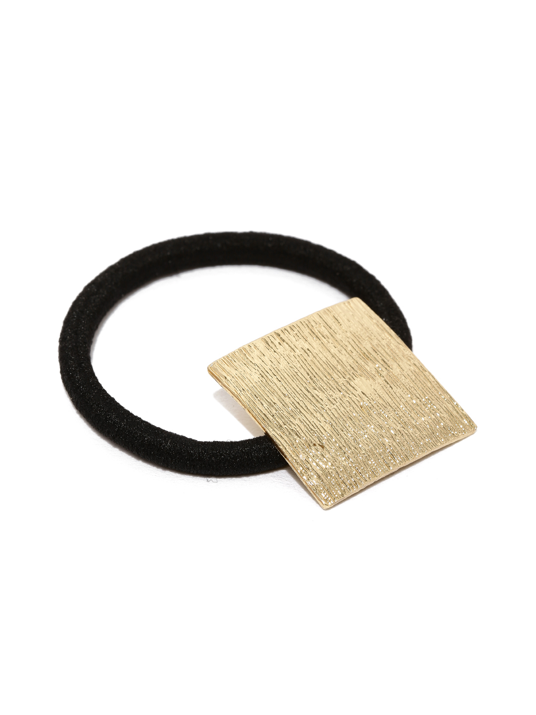 ToniQ Gold-Toned & Black Textured Hairband