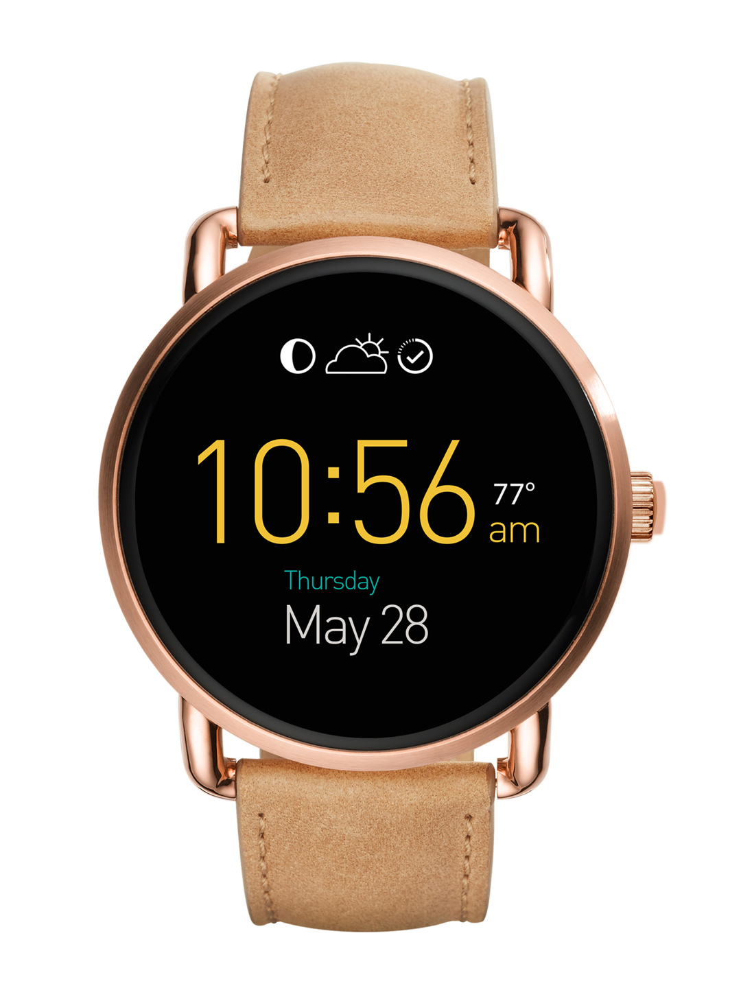 Fossil Q Wander Brown Touchscreen Smart Watch