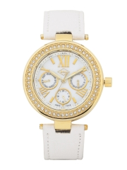 Lee Cooper Women White Multifunctional Analogue Watch LC-1312L-F