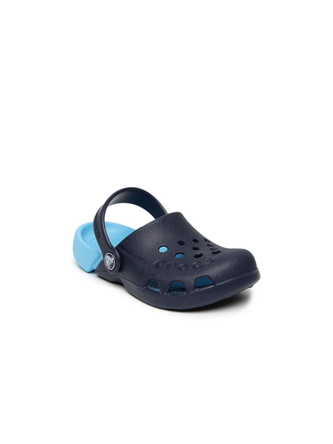 Crocs Kids Navy Clogs