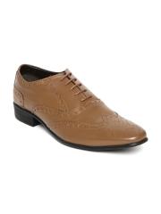 Franco Leone Men Brown Genuine Leather Brogues