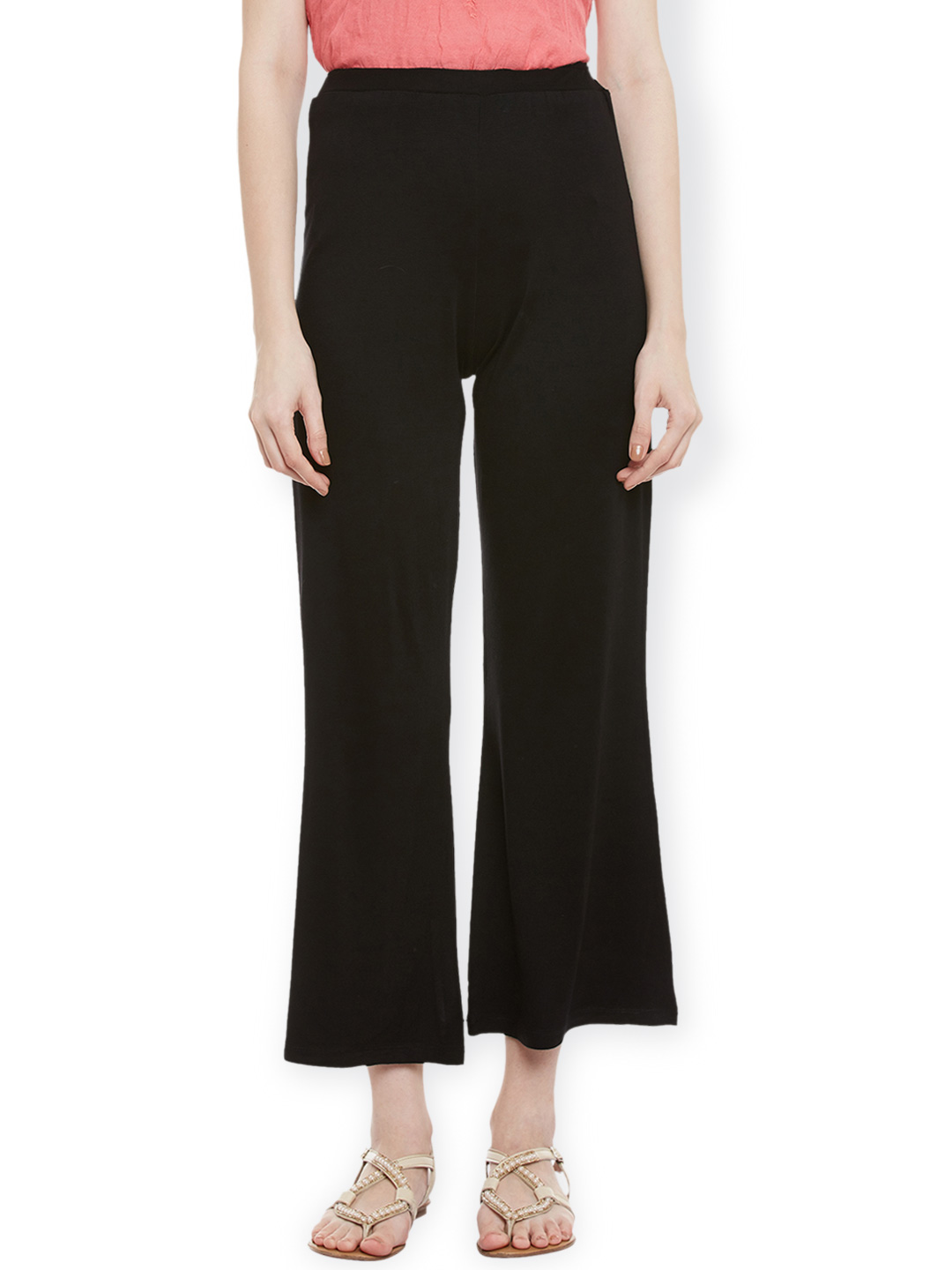Latin Quarters Women Black Trousers