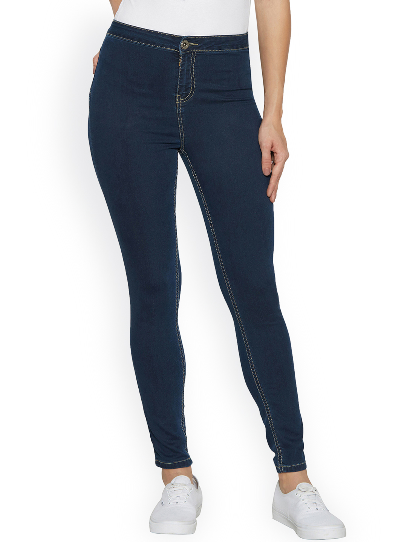 Globus Women Blue Super Skinny Fit Jeans