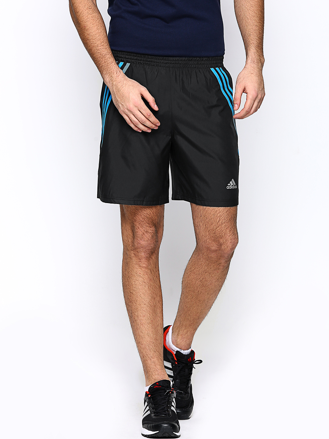 Adidas Adidas Men Black QUE 7 SH M Shorts (Multicolor)