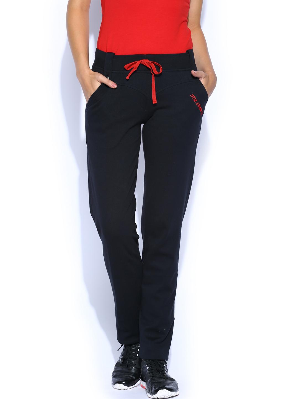 SDL by Sweet Dreams Women Black Lounge Pants F-LAP-6151