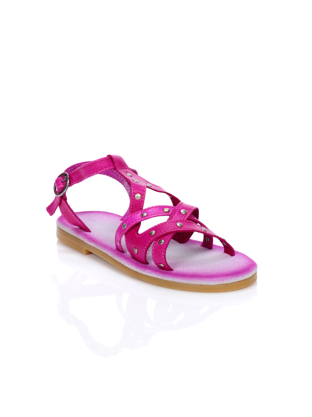 Enroute Teens Pink Sandals