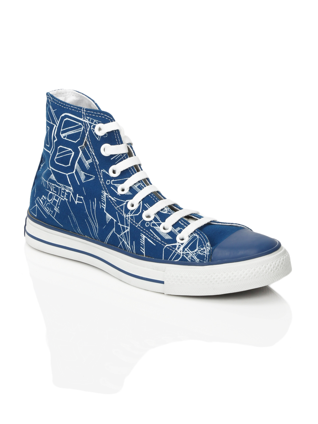 Converse Men CT AS 08 3D HI Blue Shoes