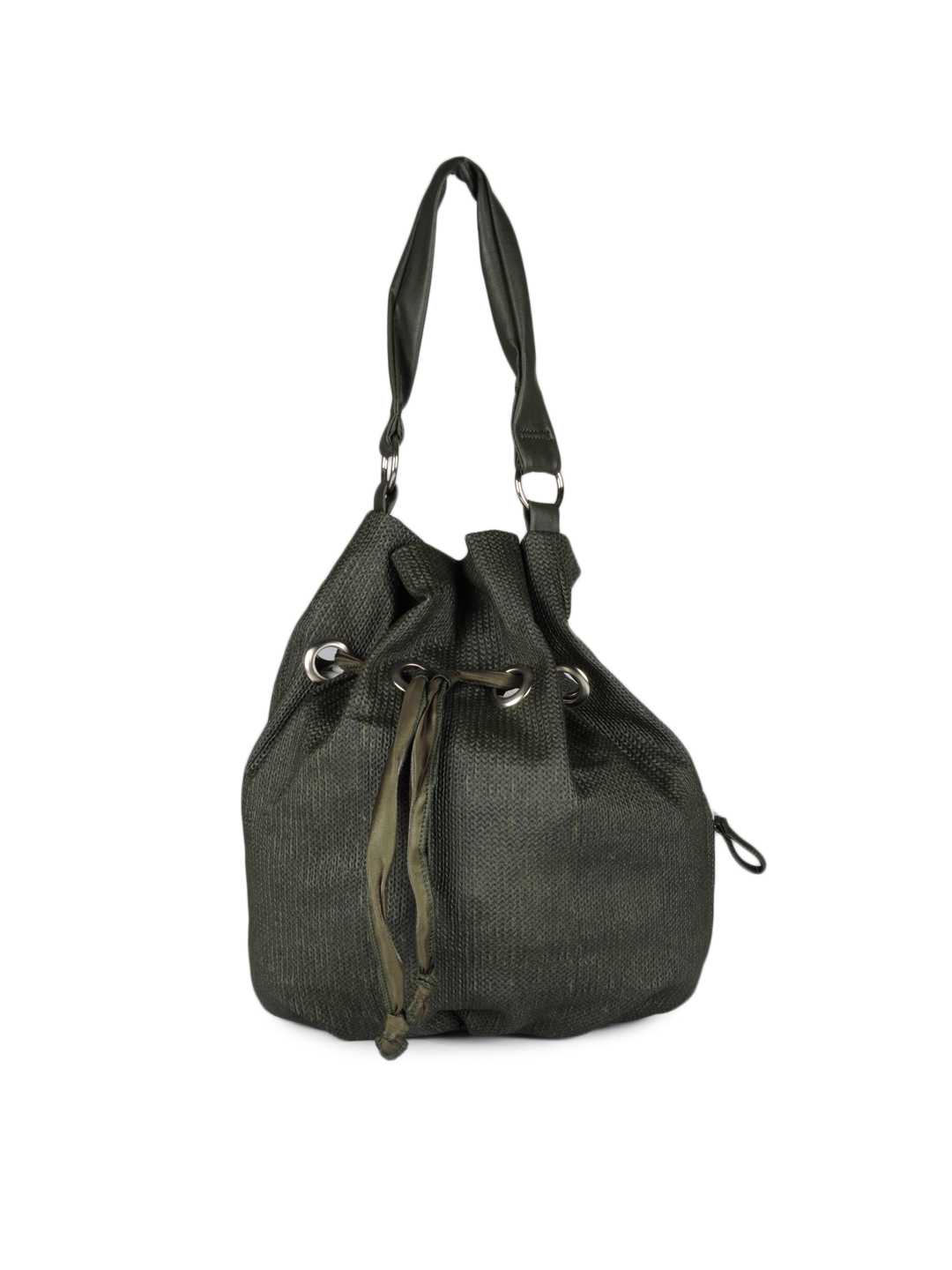 Baggit Women Olive Green Handbag
