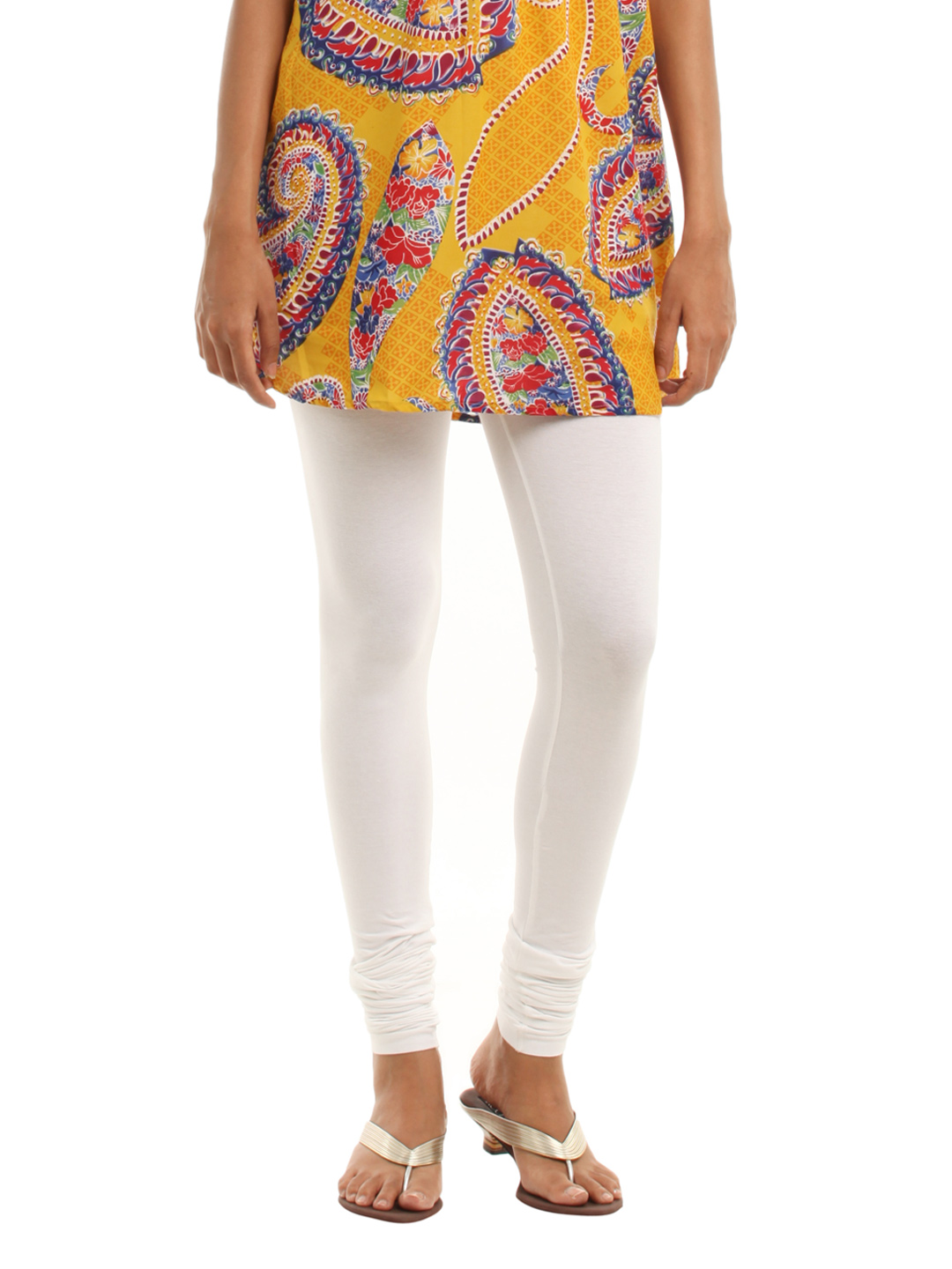 Vishudh White Leggings