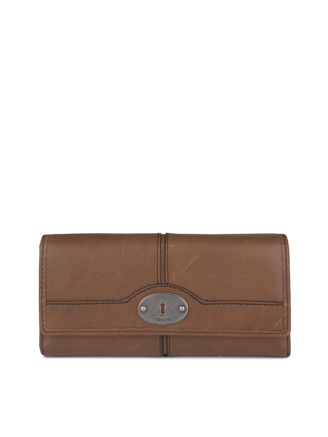 Fossil Women Brown Wallet