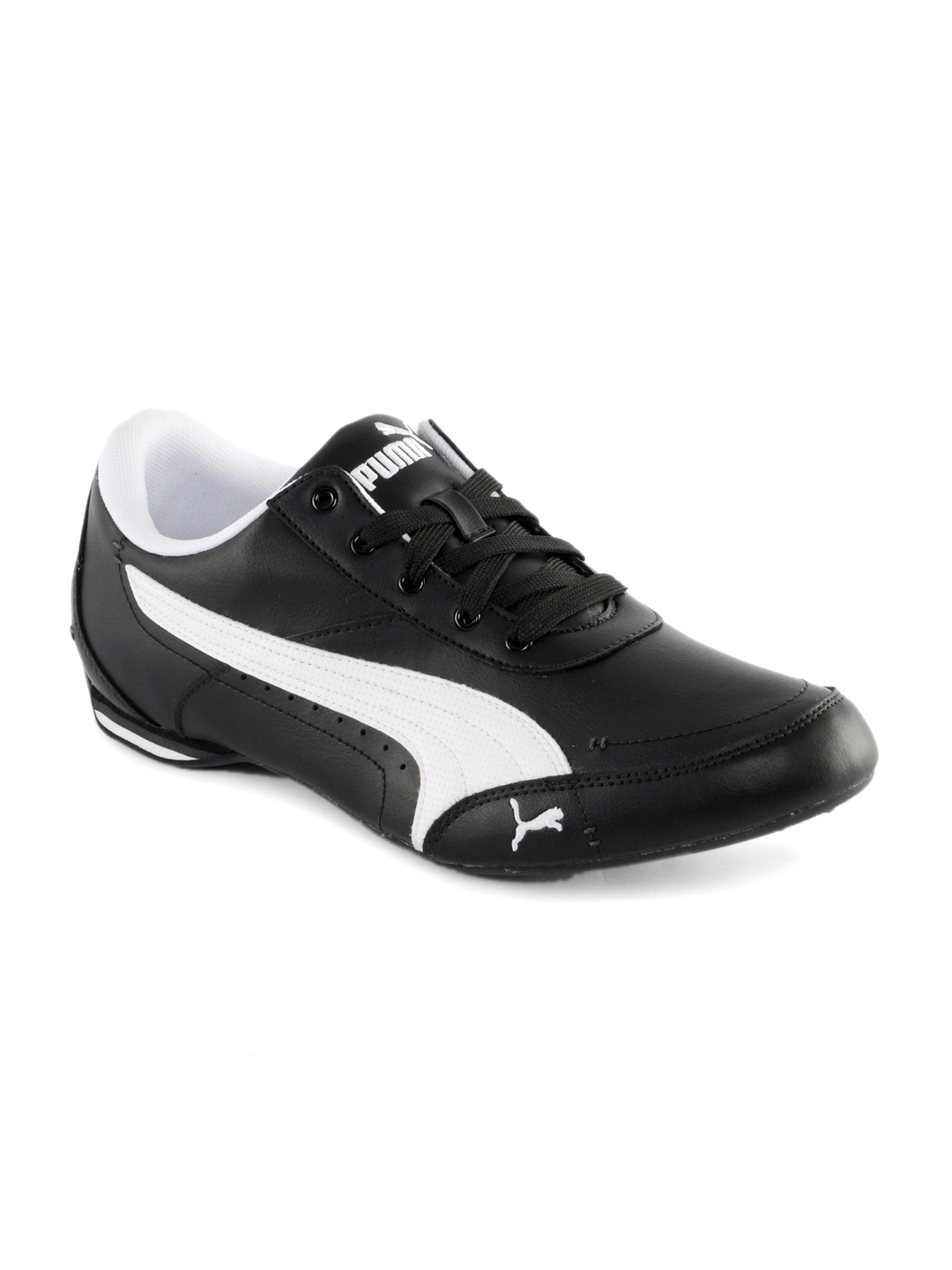 Puma Men Racer Black Shoes