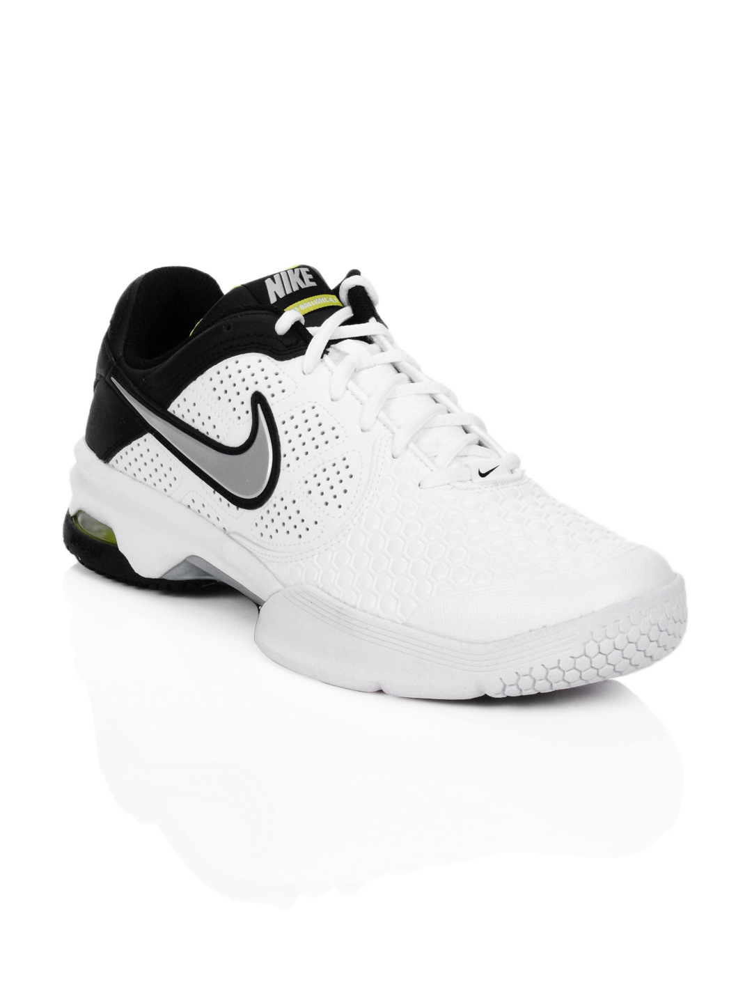 Nike Men Air Courtballistec 4.1 White Sports Shoes