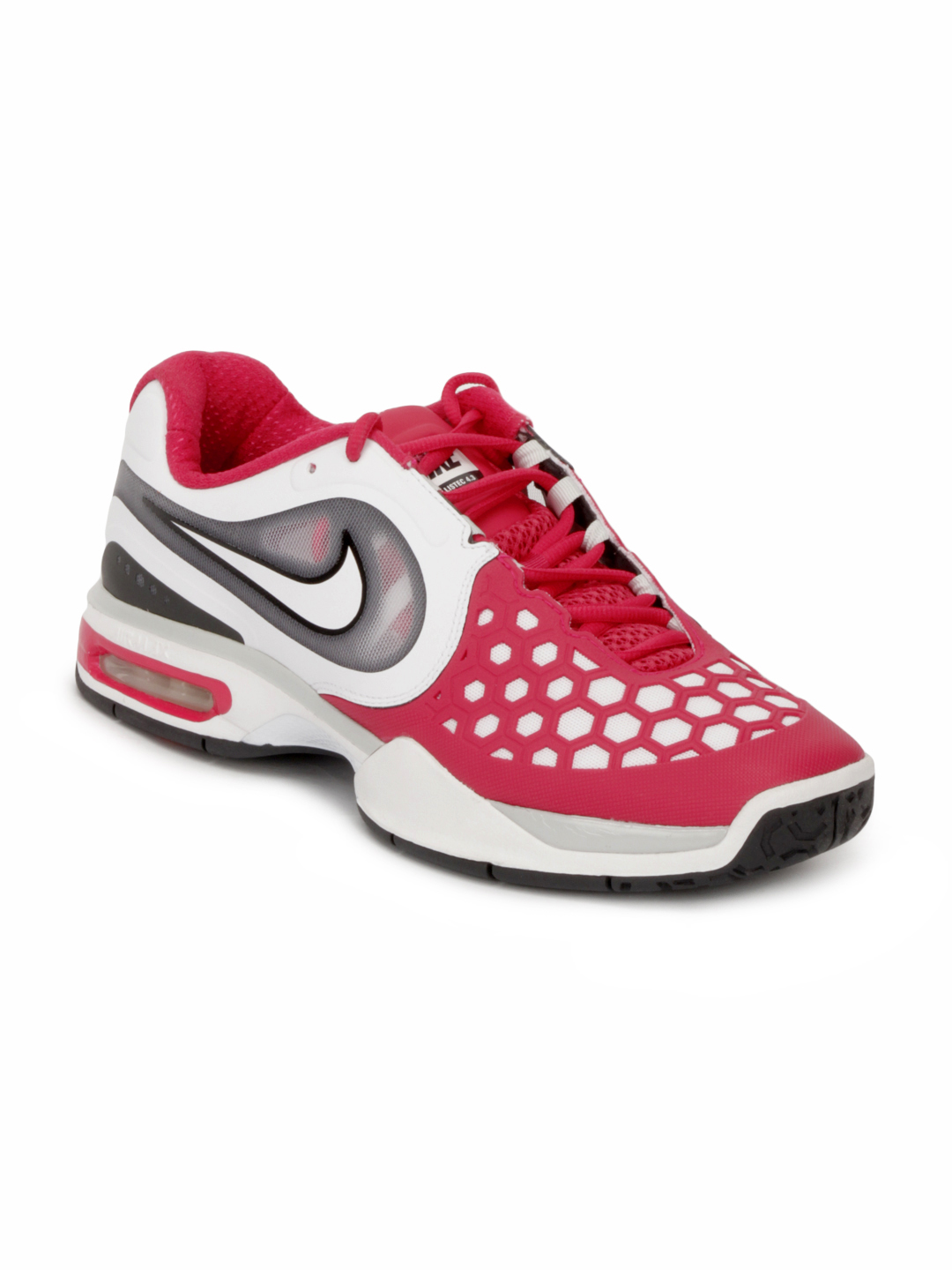 Nike Men Air Max Courtballistec Red Sports Shoes