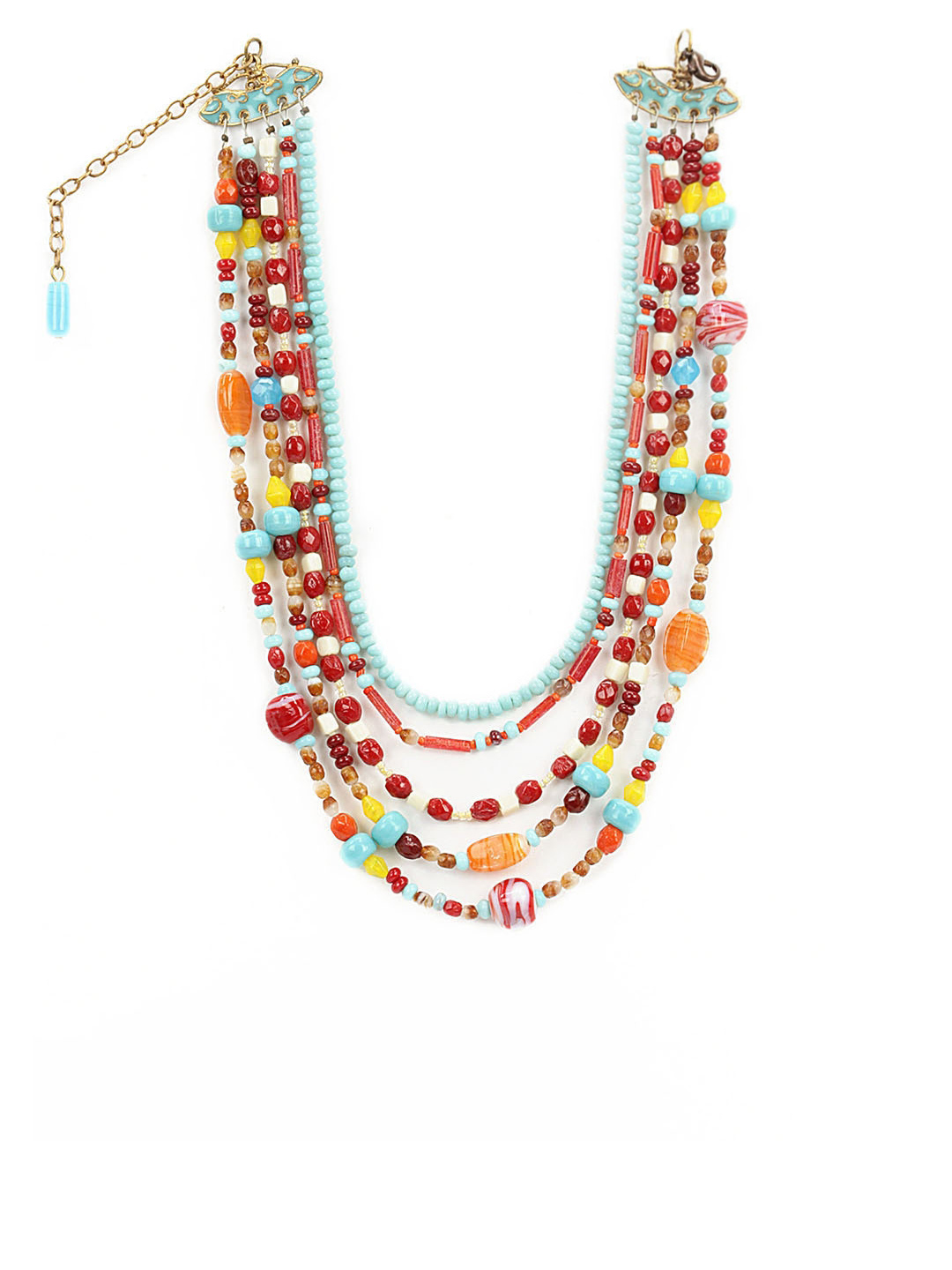 Adrika Multi Coloured Necklace