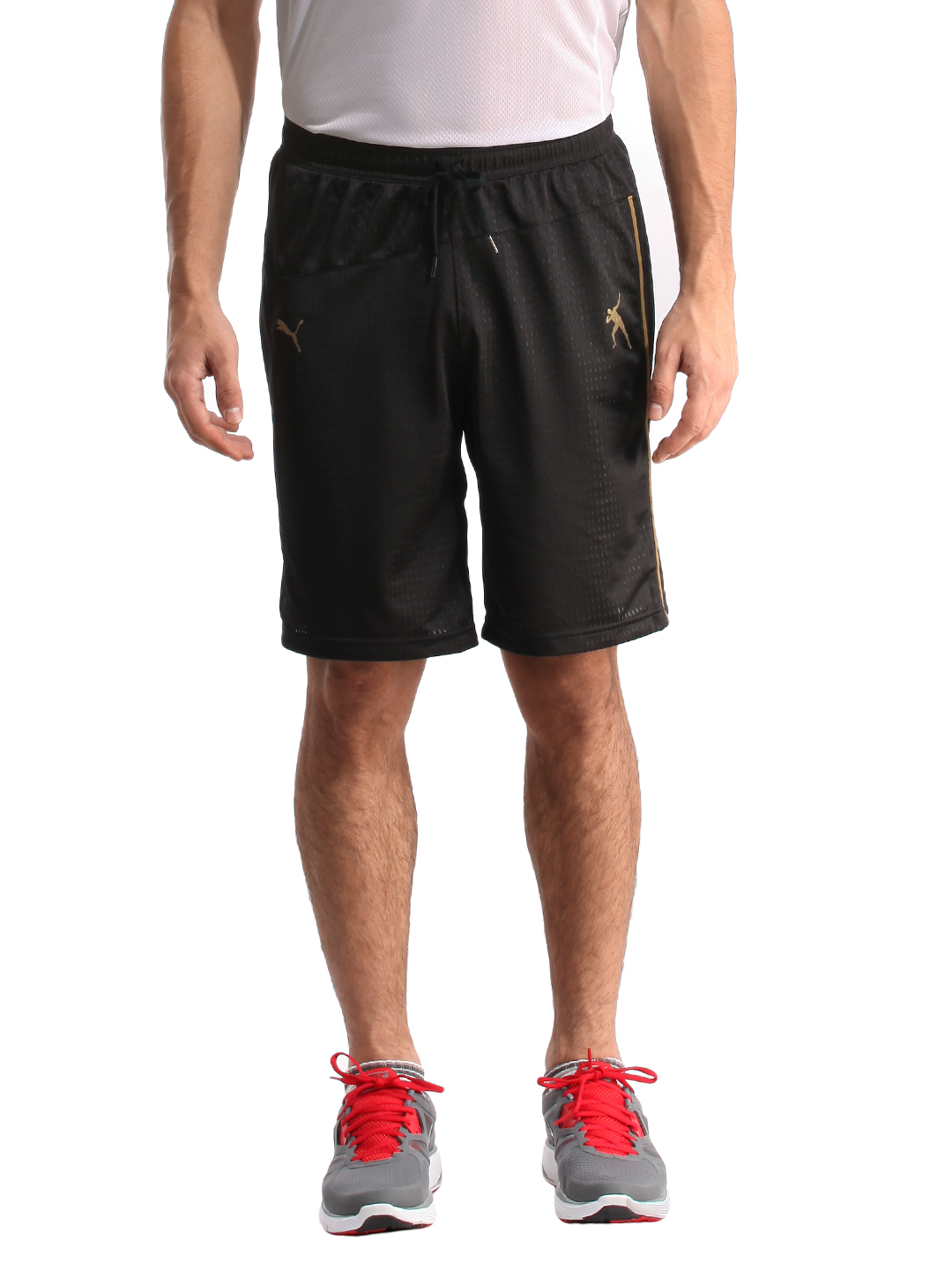 Puma Men Dazzle Black Shorts