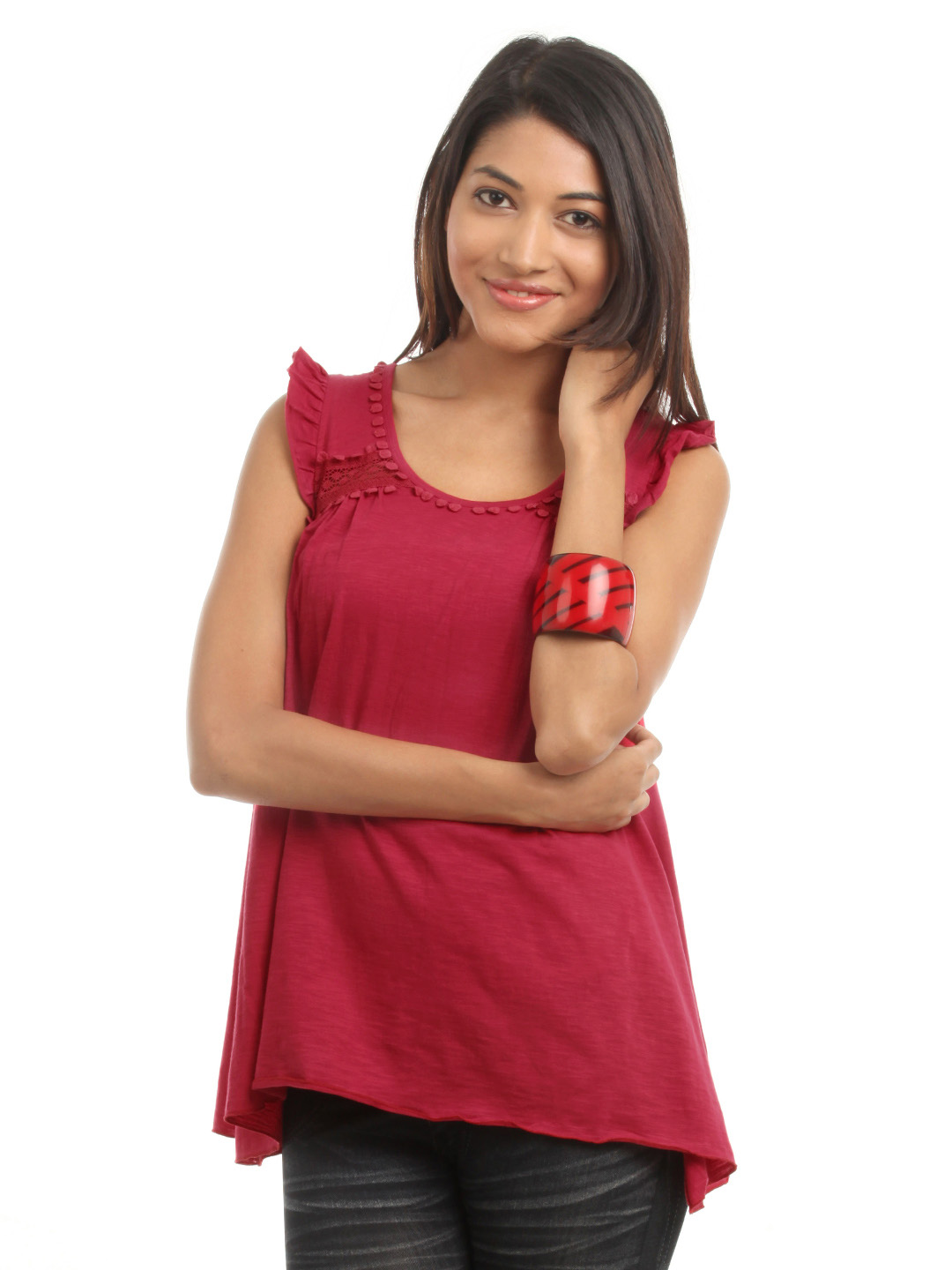 Mineral Women Red Top