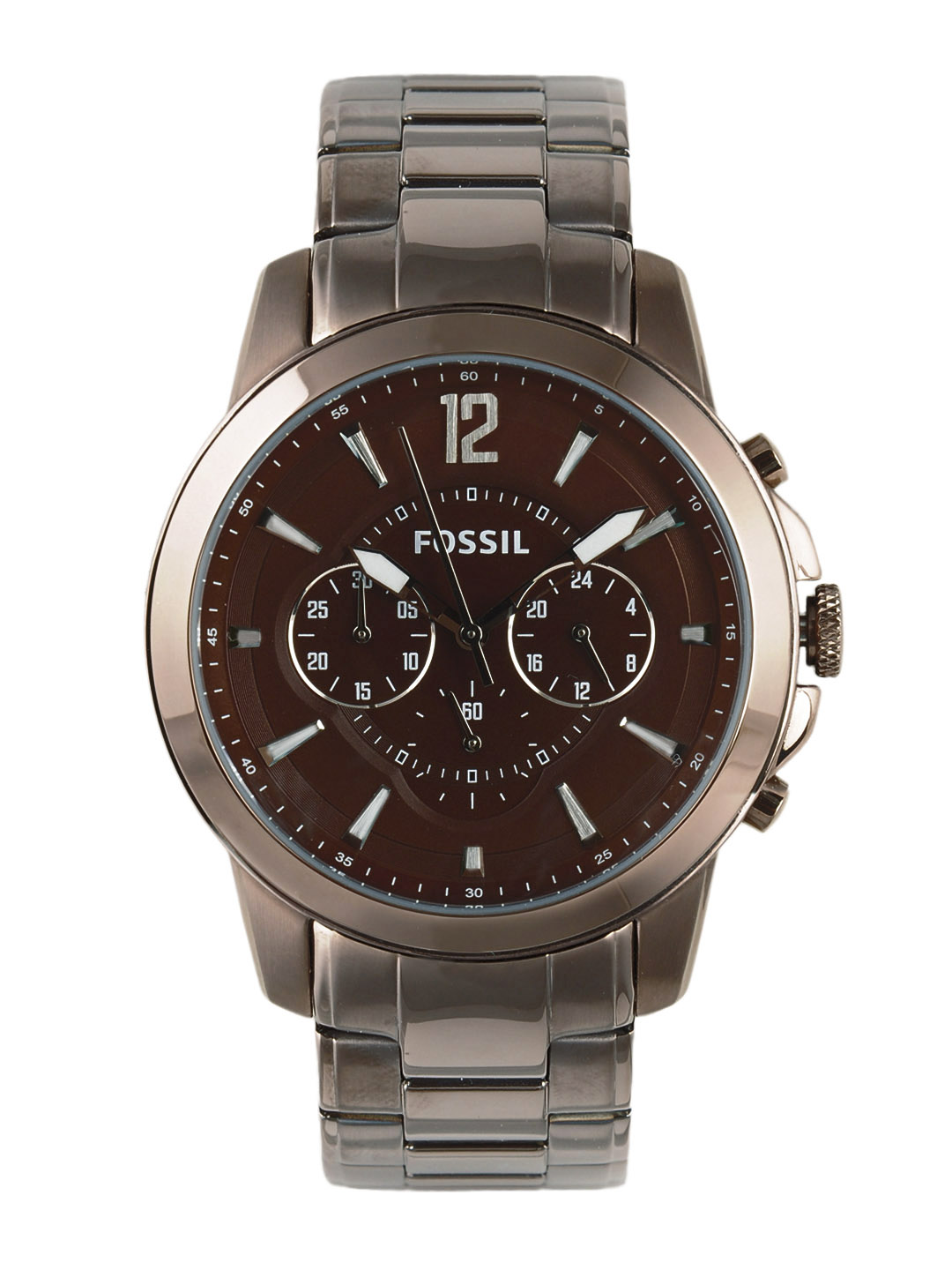 Fossil Men Brown Chronograph Watch