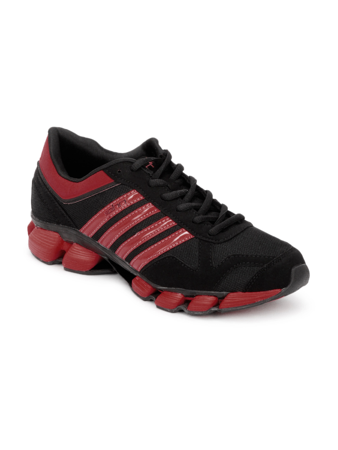 Spinn Men Cubic Black Sports Shoes