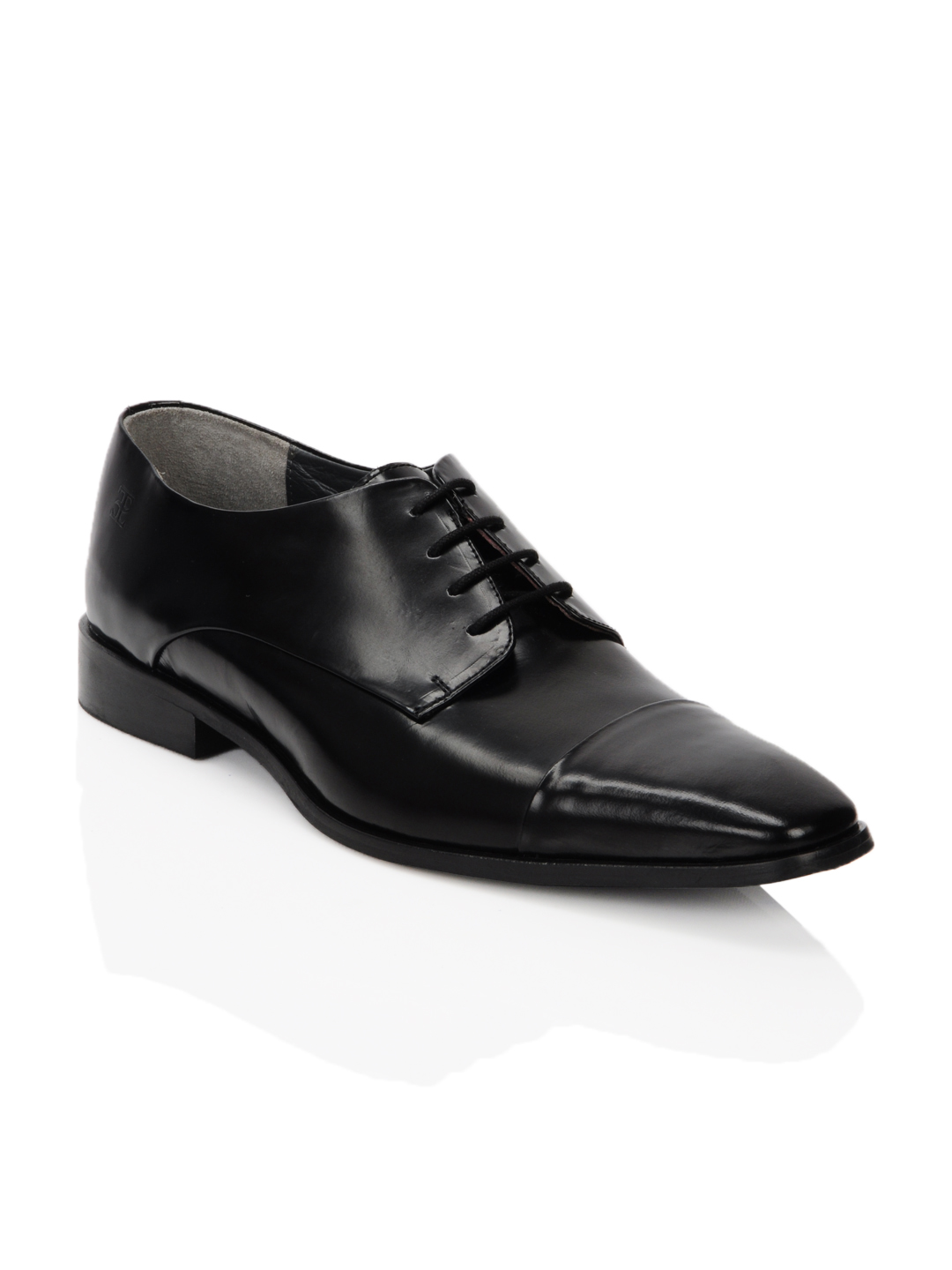 Enroute Men Black Formal Shoes