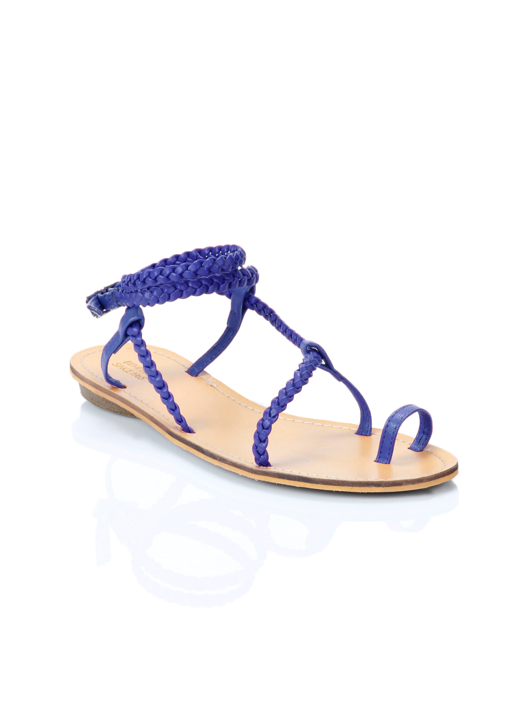 United Colors of Benetton Women Blue Sandals