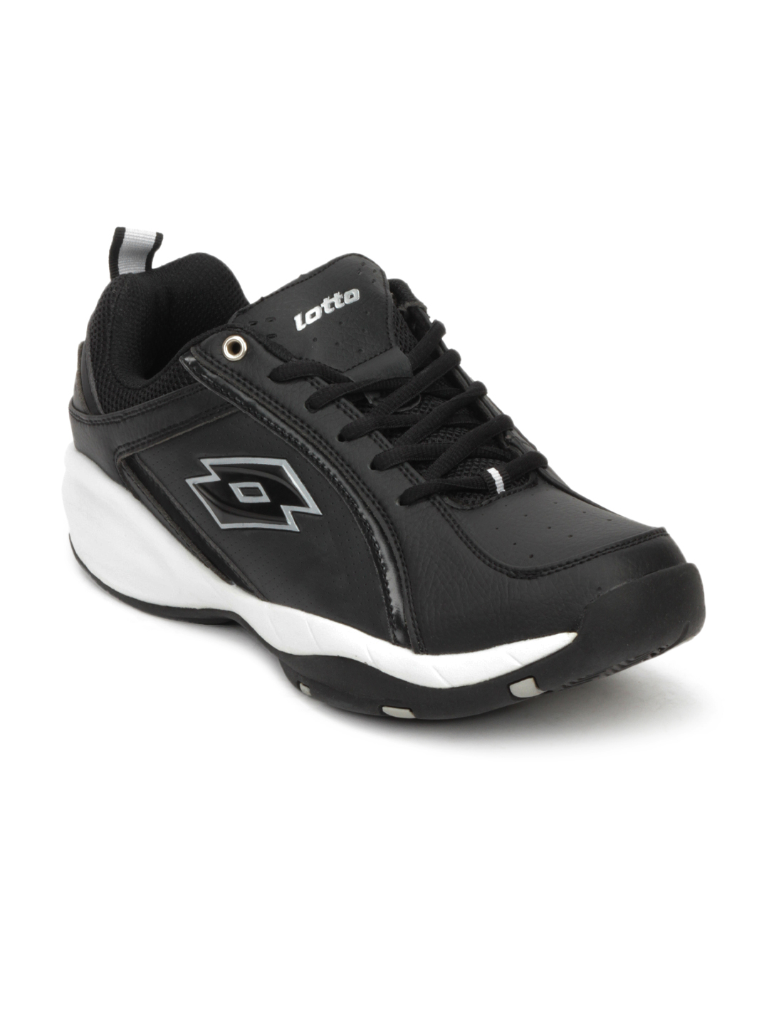 Lotto Men Black Sports Shoes
