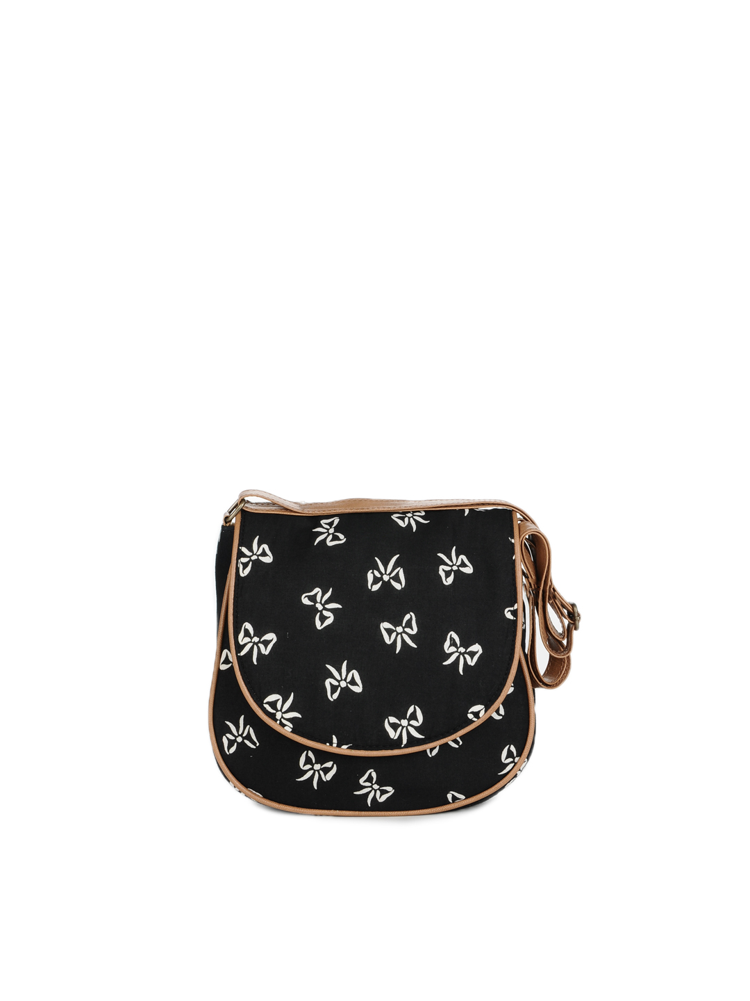 3 Mad Chicks Black Sling Bag