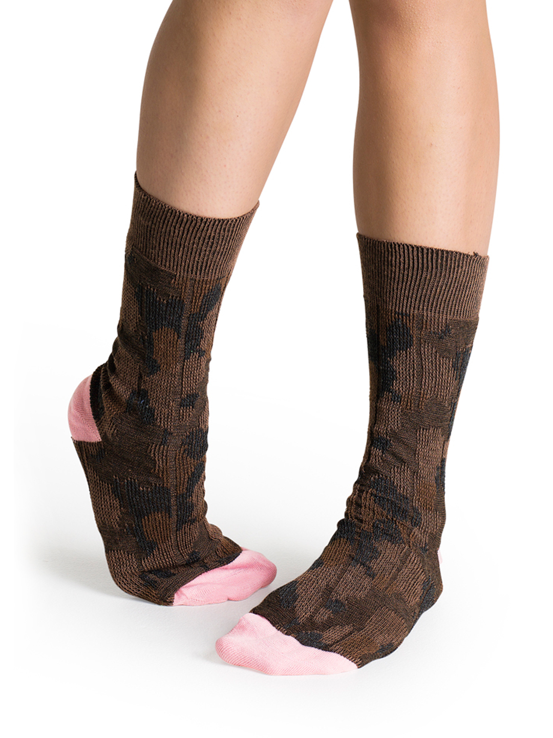 Happy Socks Unisex Brown Socks