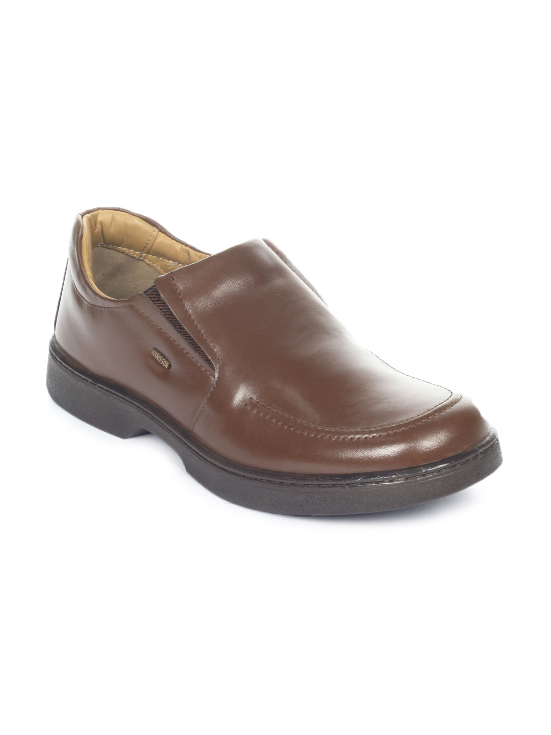 Windsor Men Brown Formal Shoes