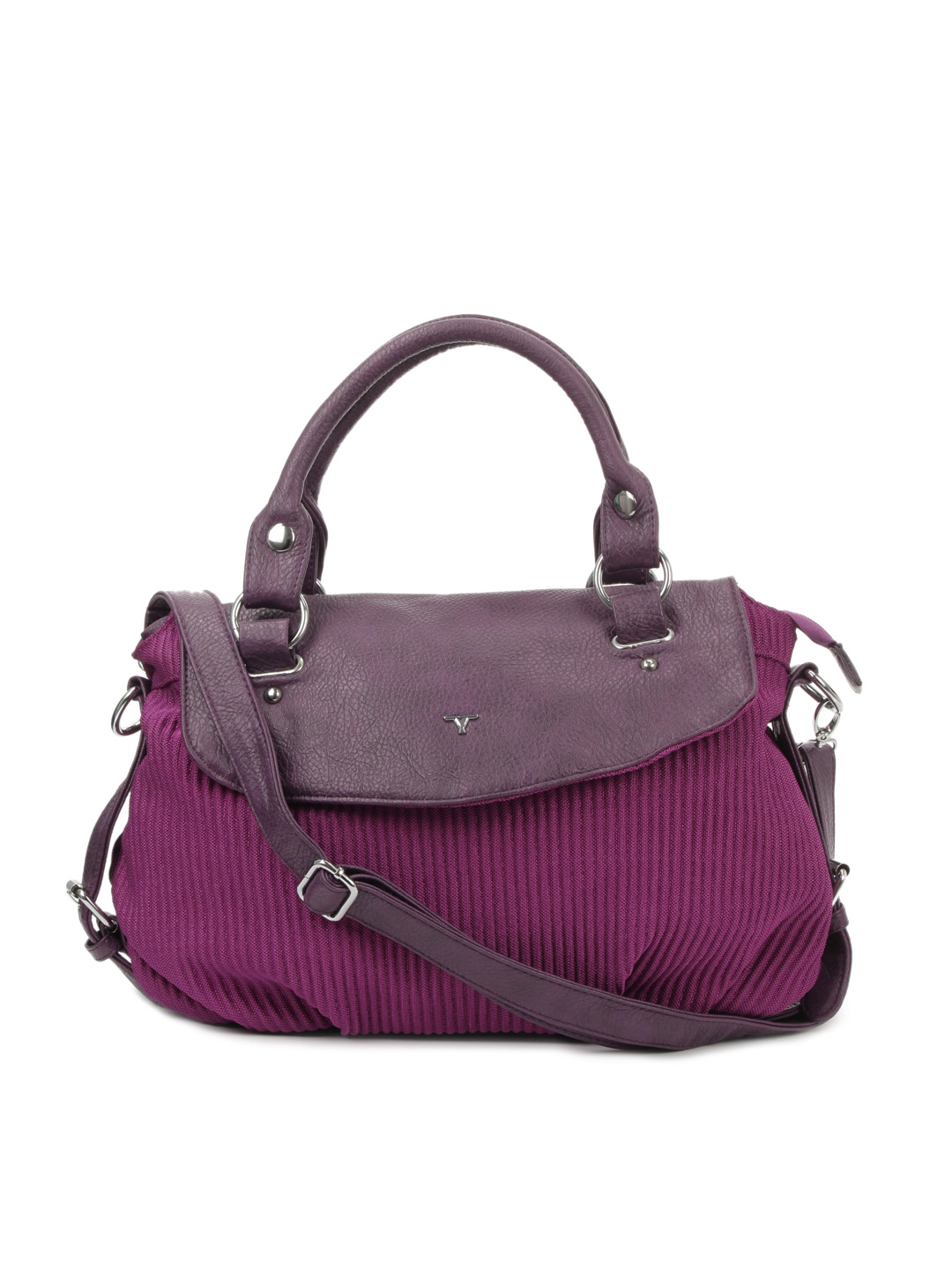 Bulchee Women Purple Handbag
