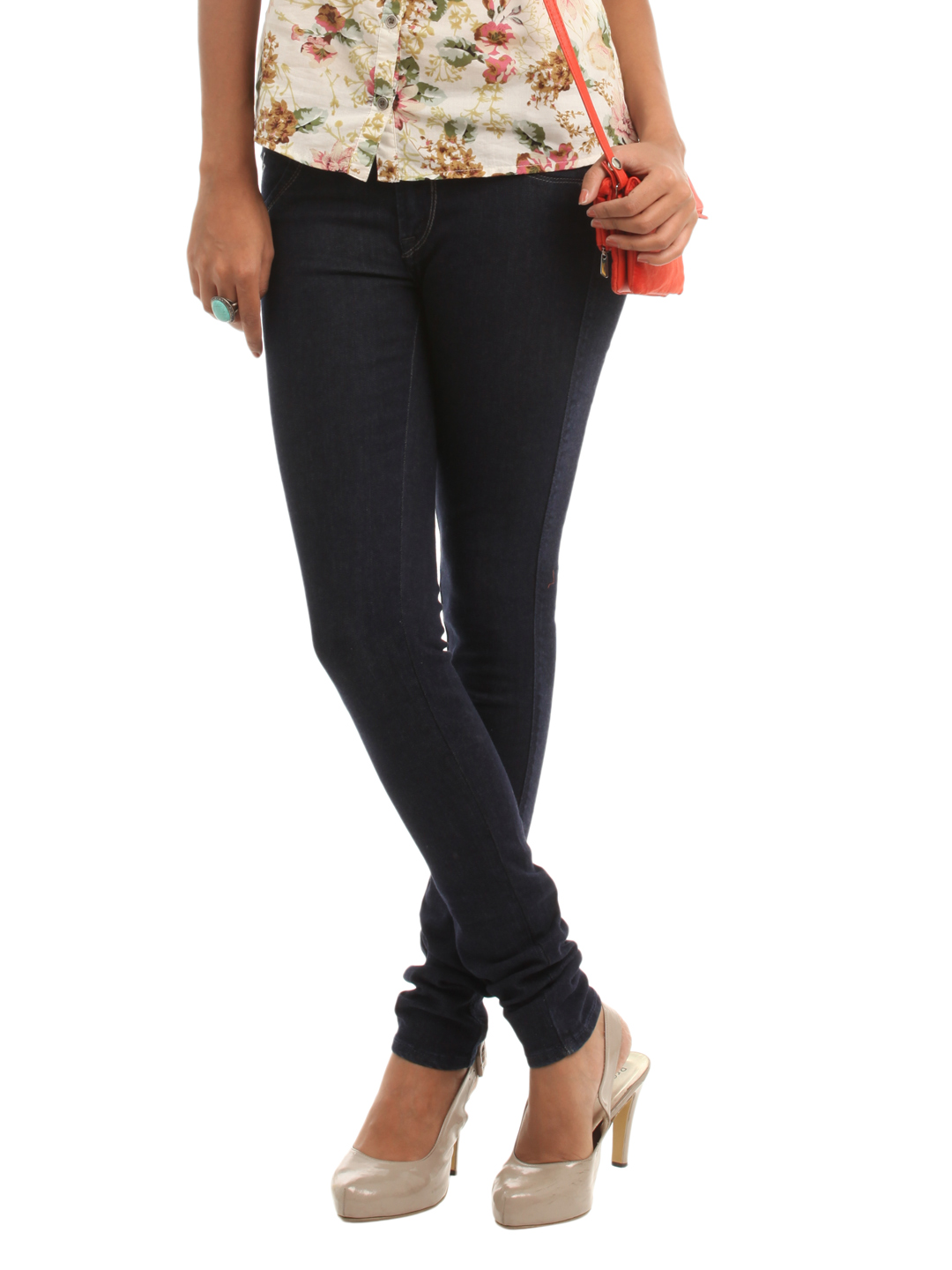 Lee Women Navy Blue Jeggings