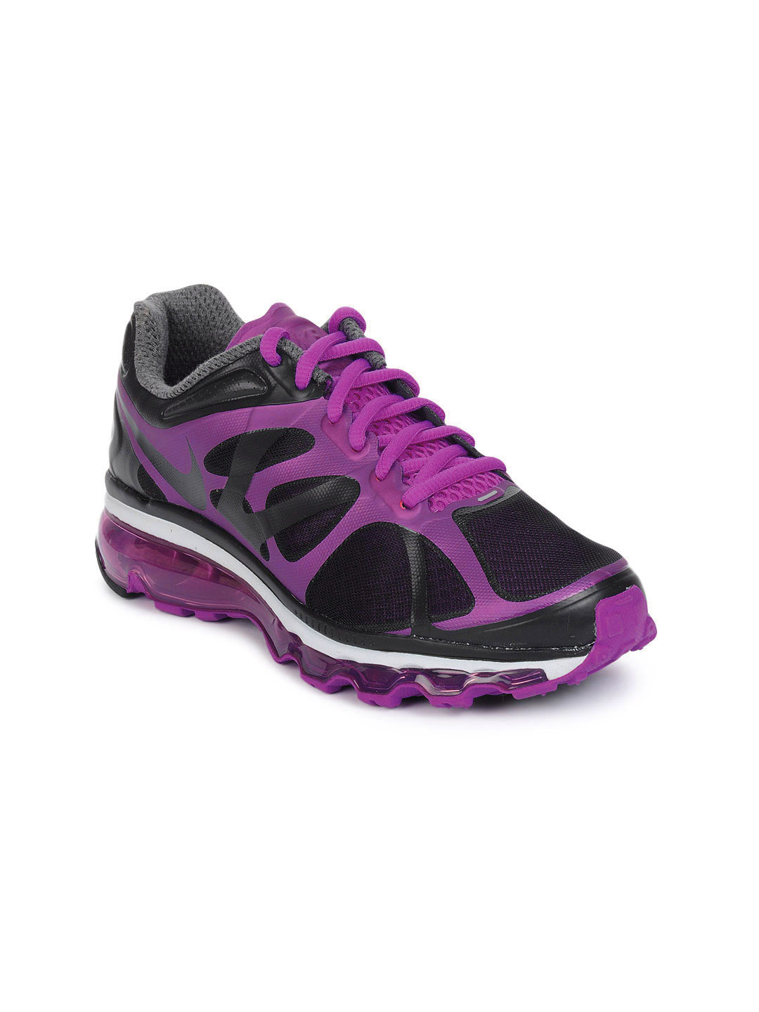Nike Women Purple Air Max Sports Shoes