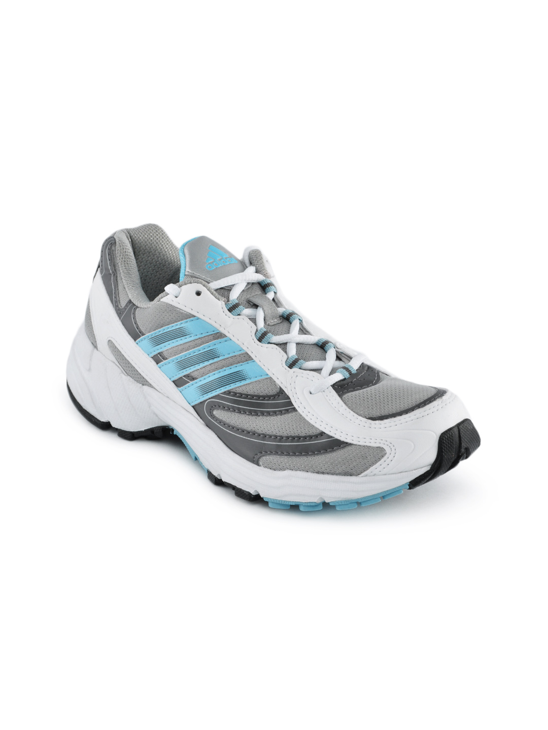Adidas Women White & Grey Vanquish Sports Shoes