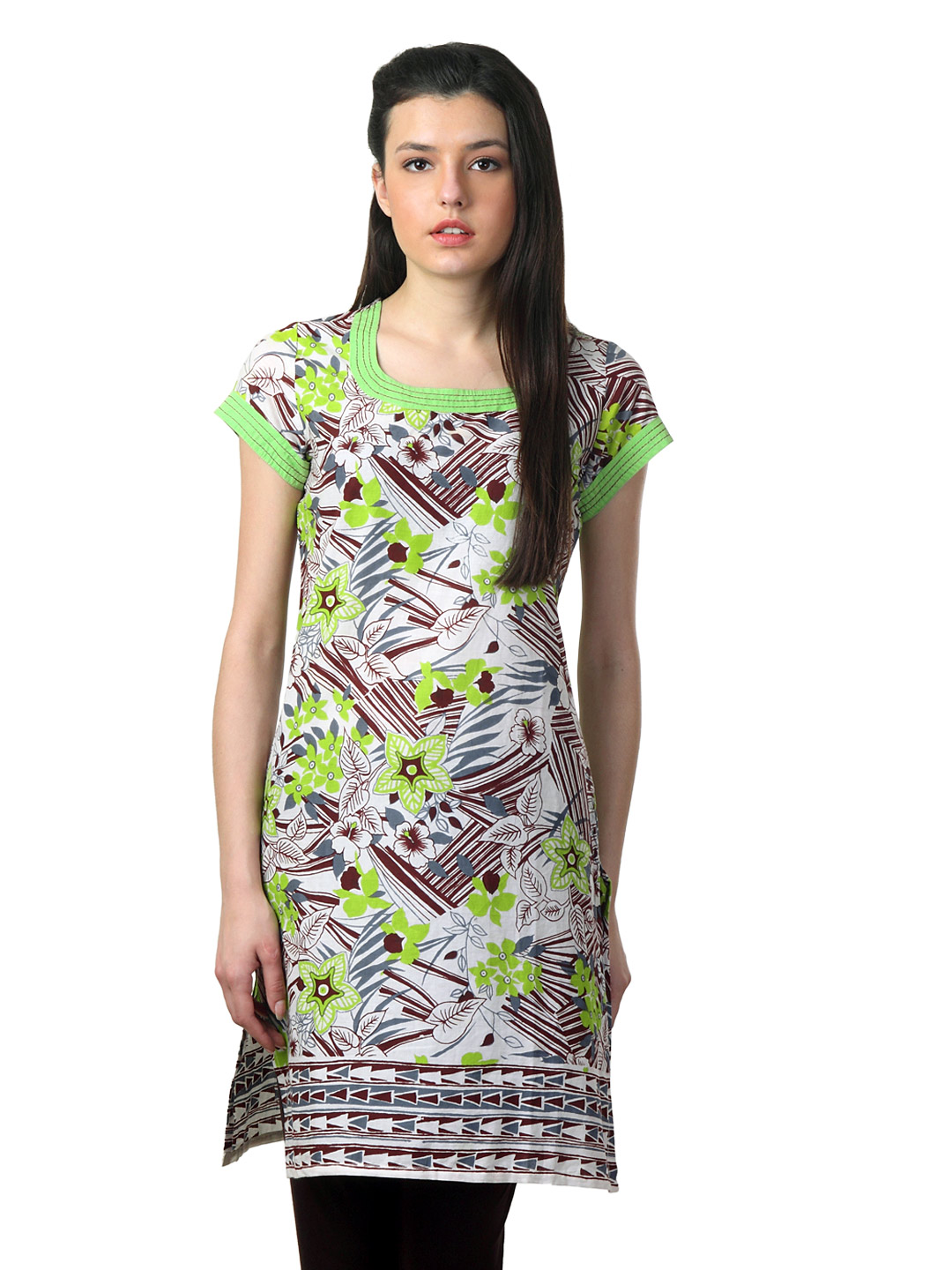 Mother Earth Women Multi Coloured Kurta
