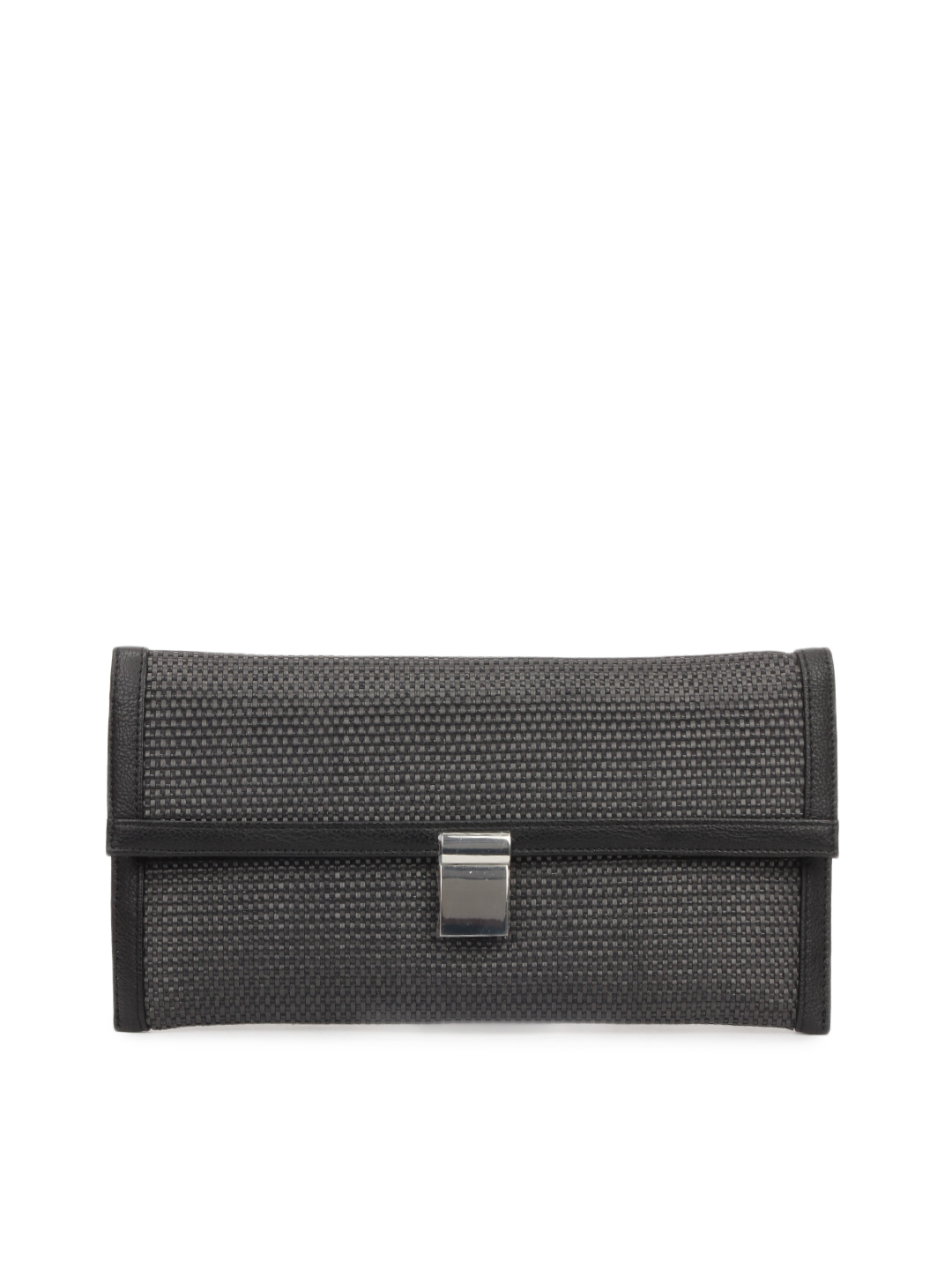 French Connection Women Black Clutch