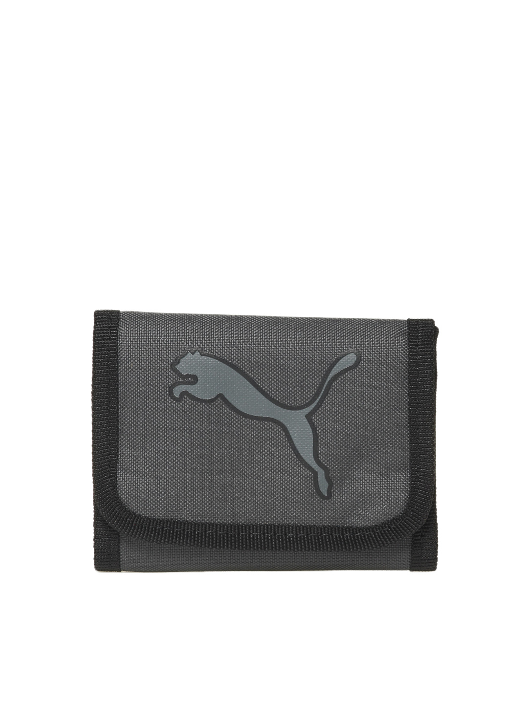 Puma Men Black Big Cat Wallet