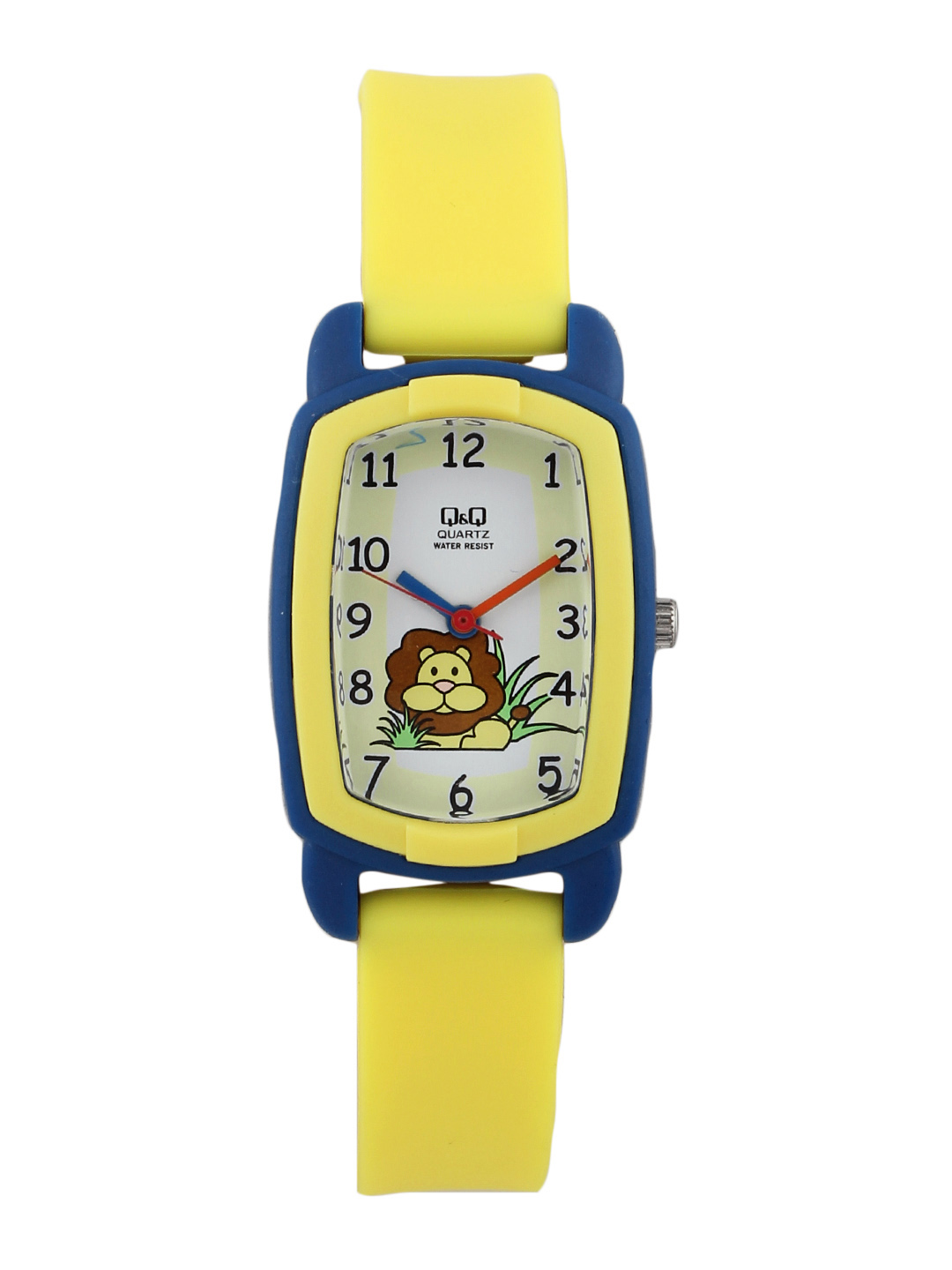 Q&Q Kids Unisex Yellow Dial Analog Watch