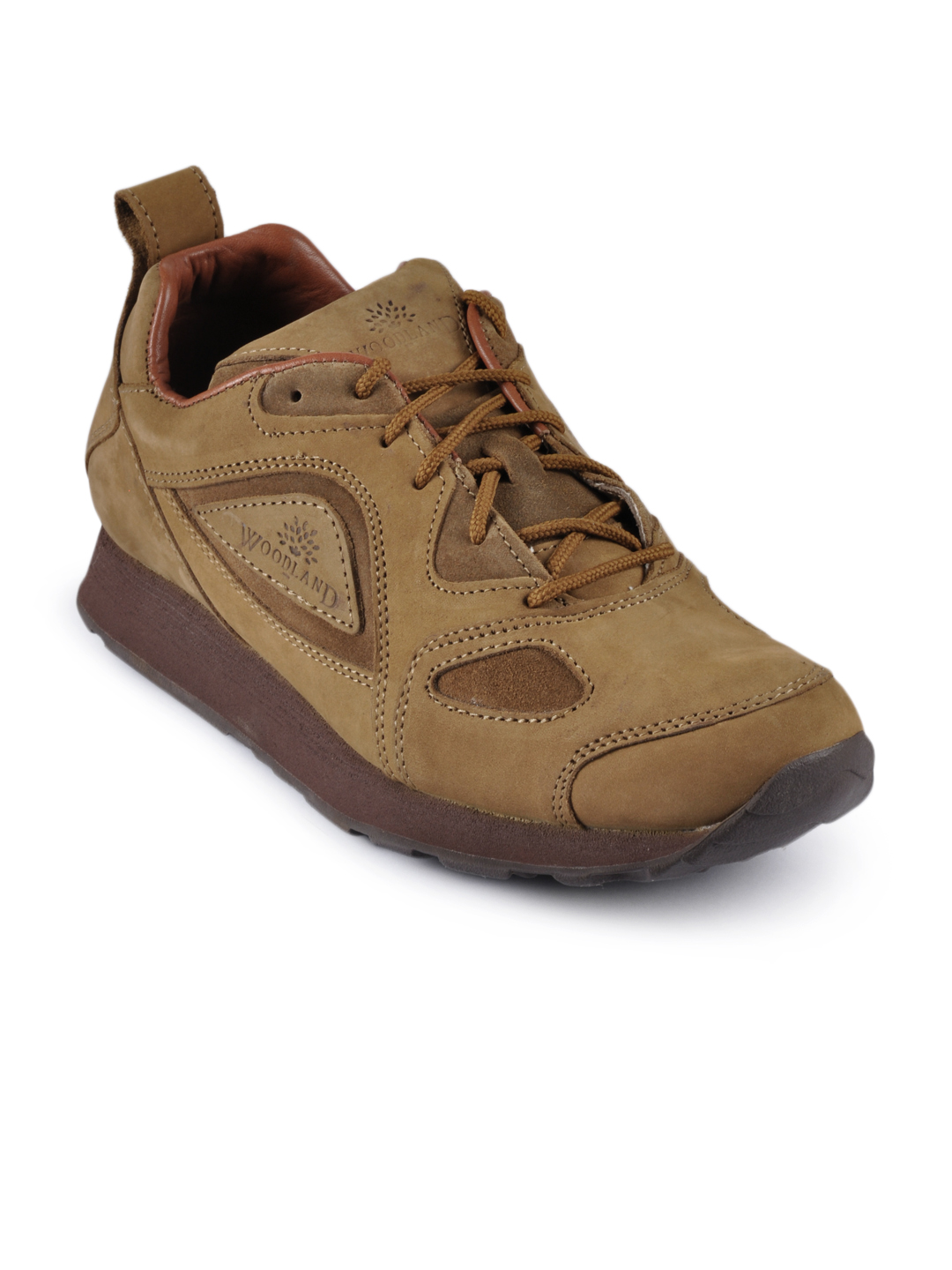 Woodland Men Camel Casual Shoes