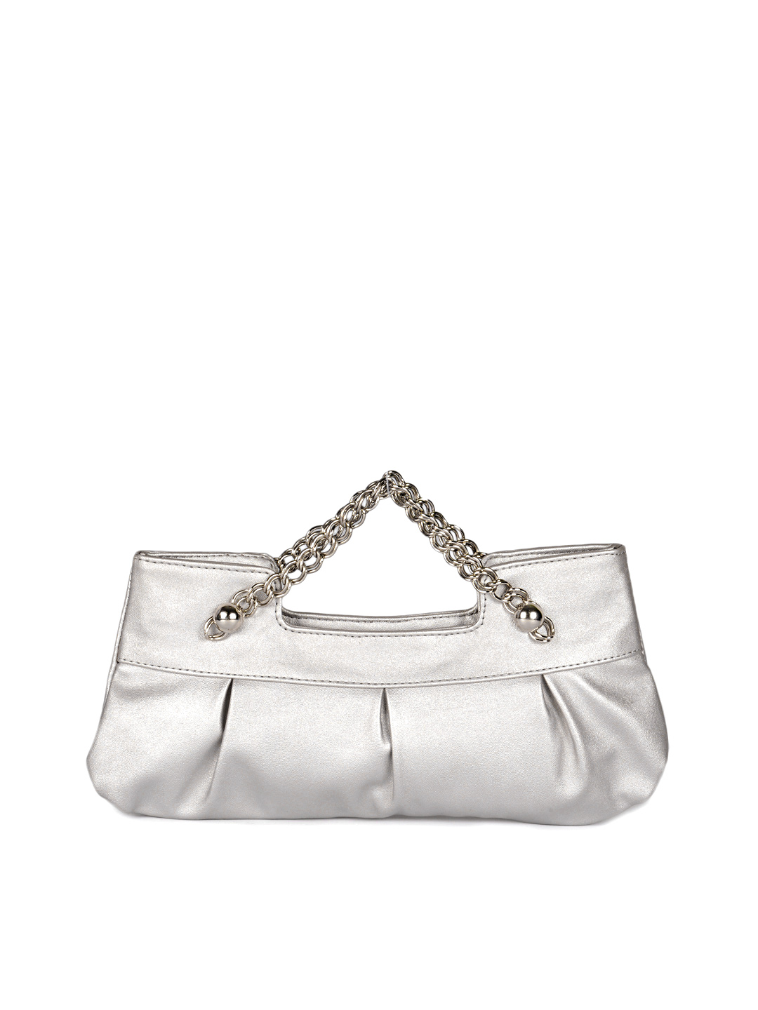 Baggit Women Silver Clutch