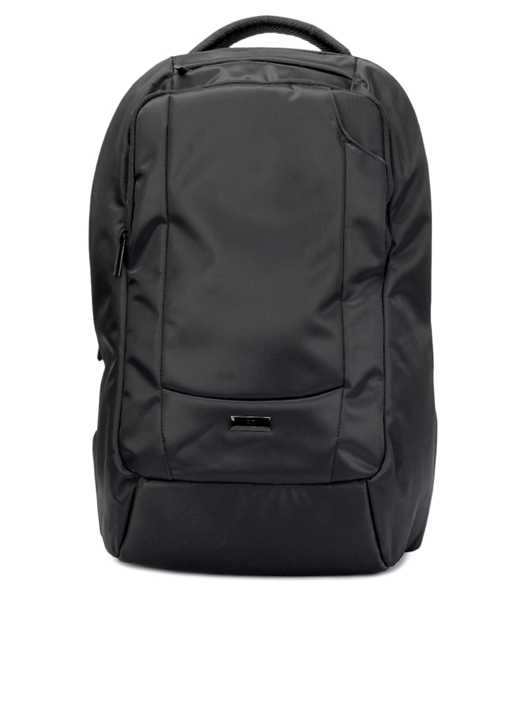 Peter England Unisex Black Backpack