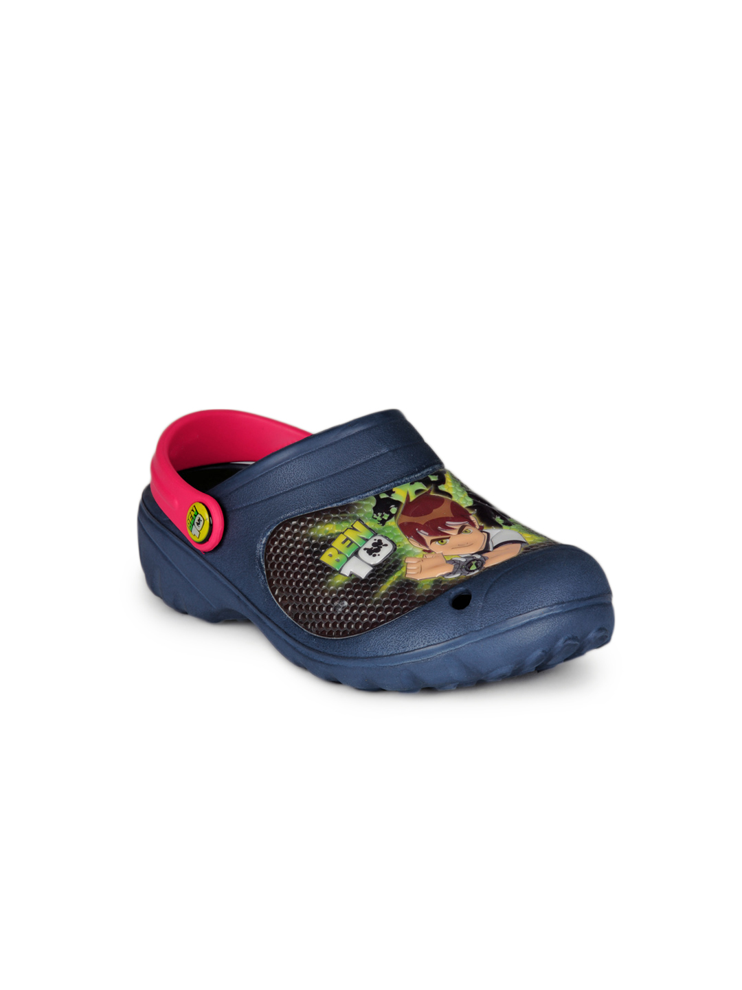 Ben 10 Boys Navy Blue Slippers