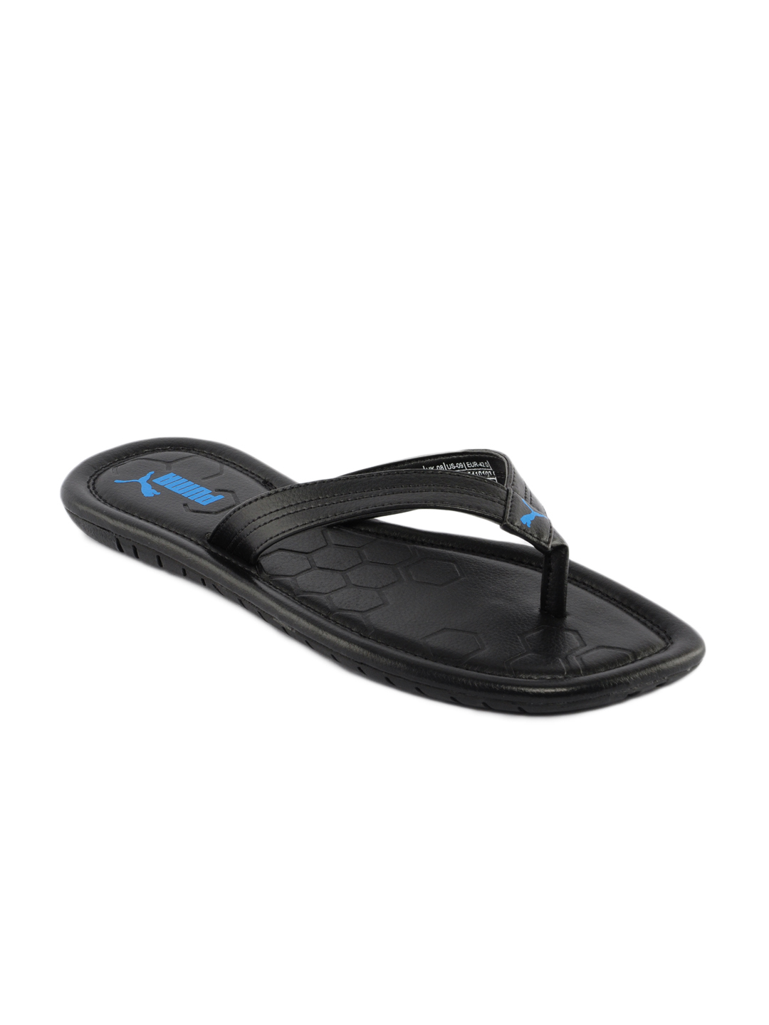 Puma Men Drifter Road Black Flip Flops