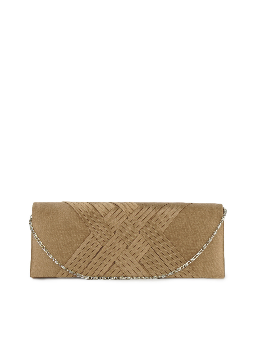 ToniQ Women Bronze Clutch