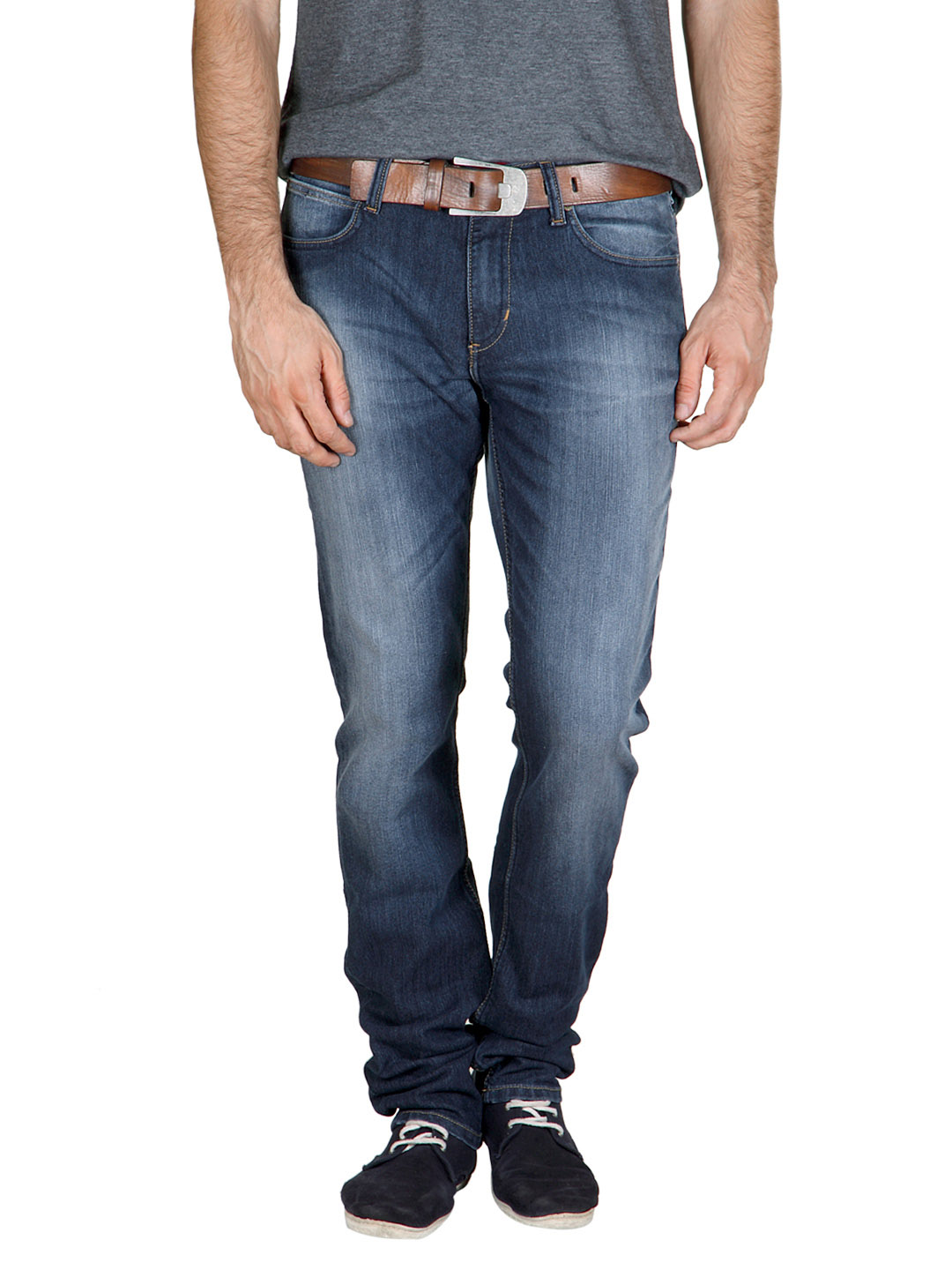 Lee Men Blue Rack Jeans