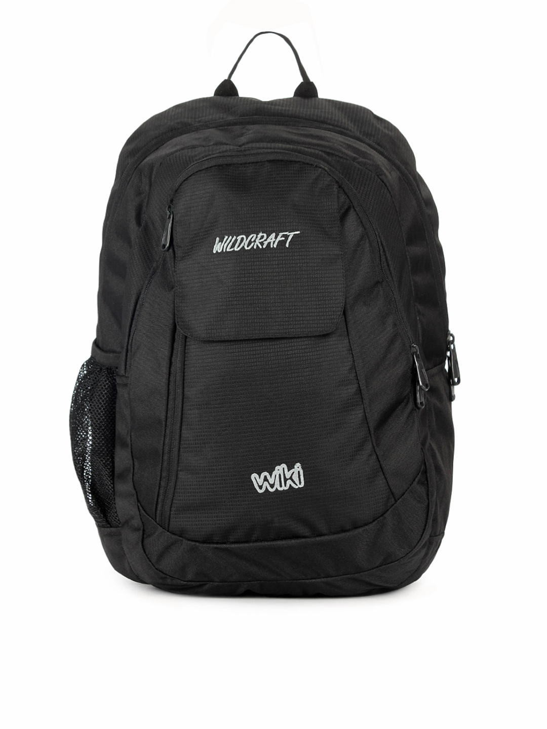 Wildcraft  Unisex Polyester Black Backpack