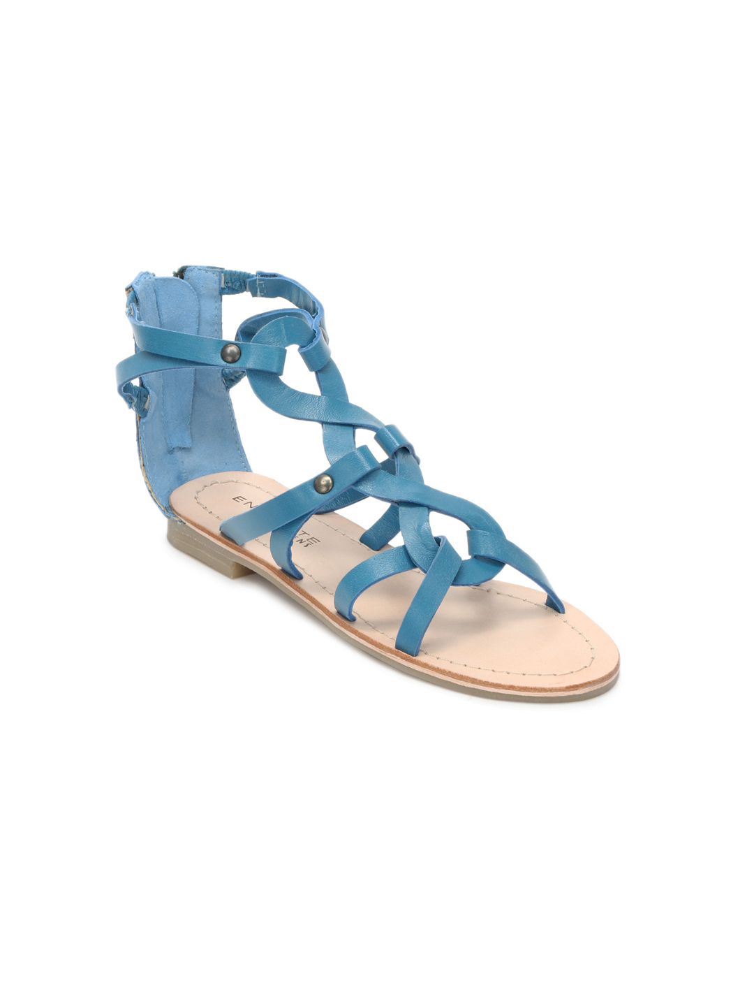Enroute Kids Girls Blue Sandals
