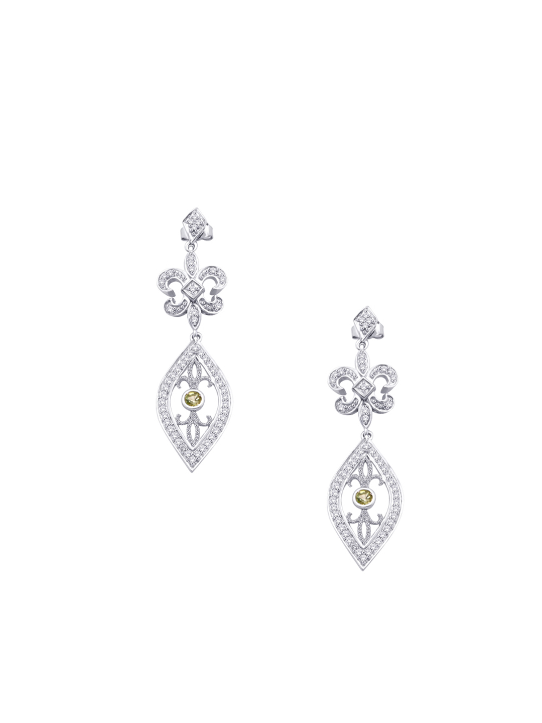 Lucera Women Silver Earrings