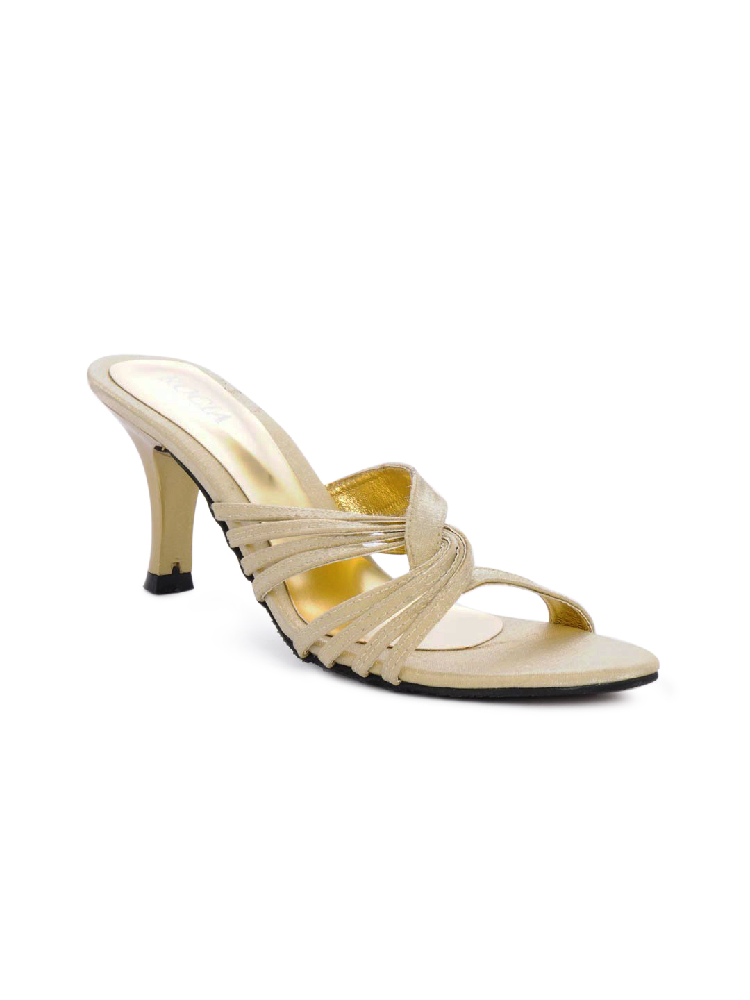 Rocia Women Golden Sandals