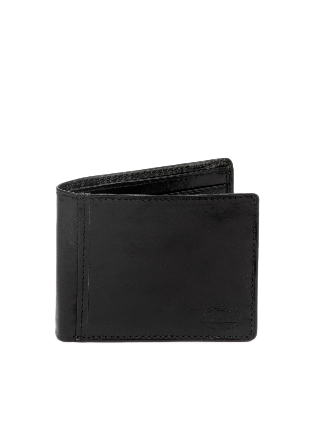 Fossil Men Black Transit Wallet